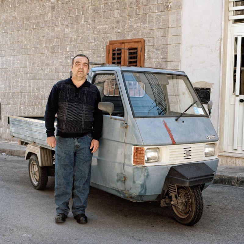 Piaggio Ape TM - Giuseppe Roccaro - Carrier