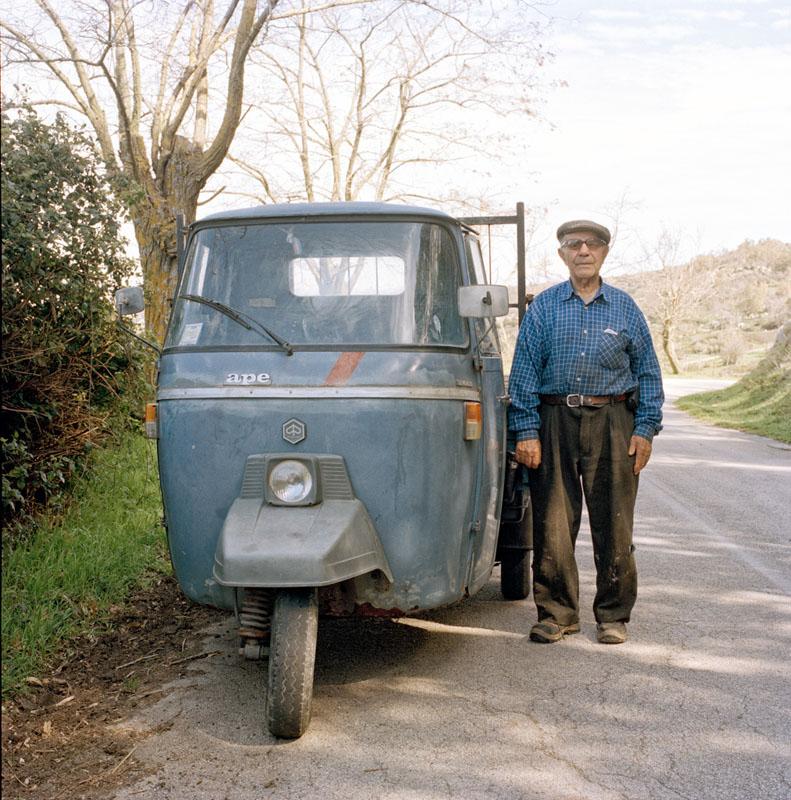 Piaggio Ape 501 - Giovanni Battaglia - Lavoratore agricolo