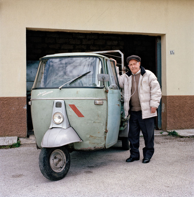 Piaggio Ape 500 MP - Giuseppe Musso - Lavoratore agricolo