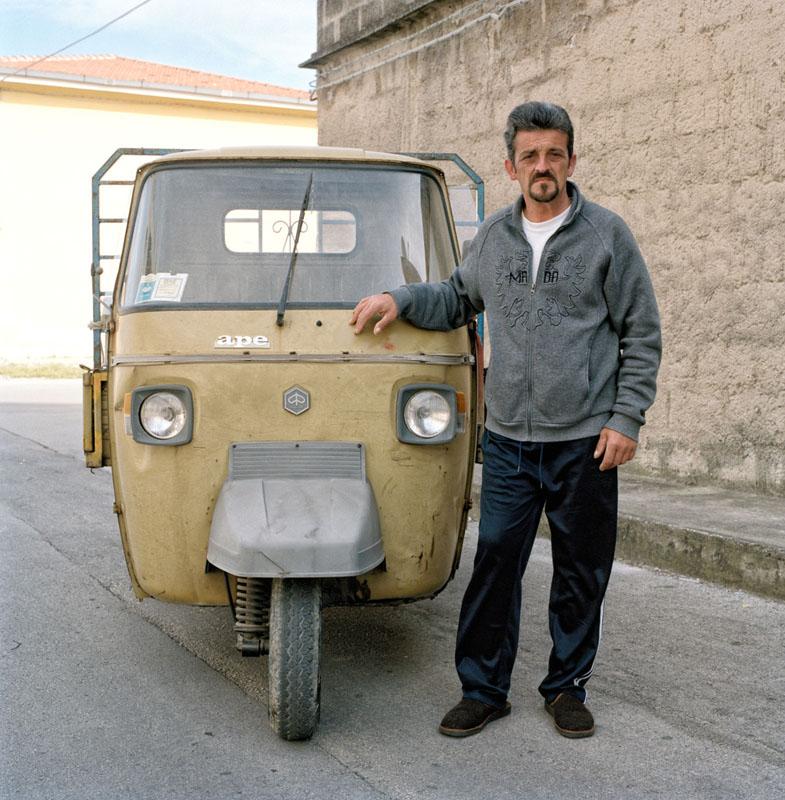Piaggio Ape TM P601 - Sebastiano Fugali - Bracciante agricolo