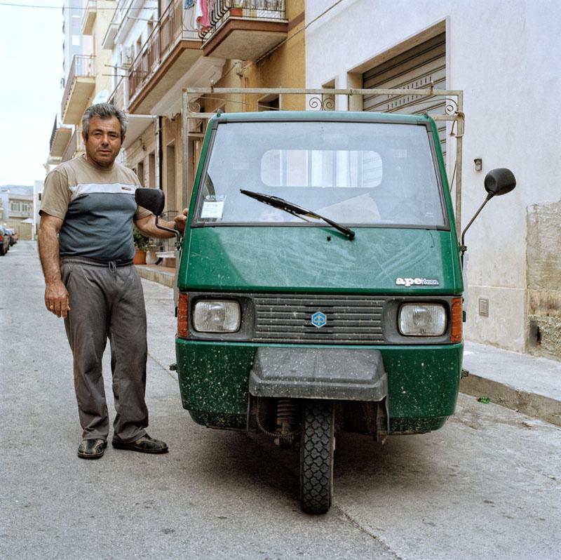 Piaggio Ape TM P703 - Antonio Silvia - Lavoratore agricolo