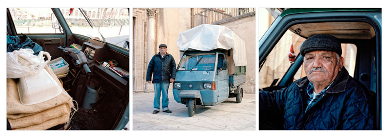 "Piaggio Ape TM P703 - Pasqualino Vinci - Peddler of ""calia"" and ""semenza"""