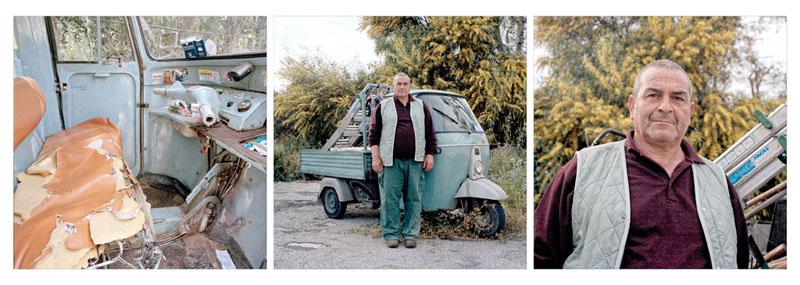 Piaggio Ape 501 - Salvatore Diamante - Giardiniere